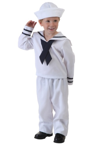 Click Here to buy Toddler Sailor Costume from HalloweenCostumes, CDN Funds