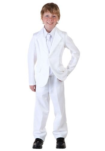 Child White Suit Costume