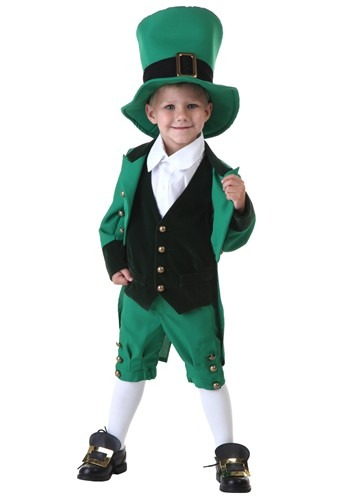 Click Here to buy Toddler Leprechaun Costume from HalloweenCostumes, CDN Funds