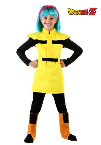 [Dragon Ball Z Child Bulma Costume] (Bulma Costume)
