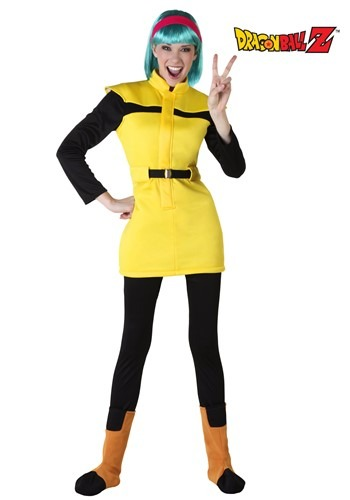 [Dragon Ball Z Adult Bulma Costume] (Bulma Costume)