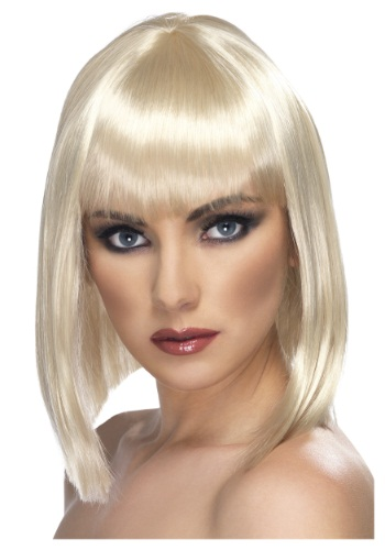 Blonde Glam Wig By: Smiffys for the 2015 Costume season.