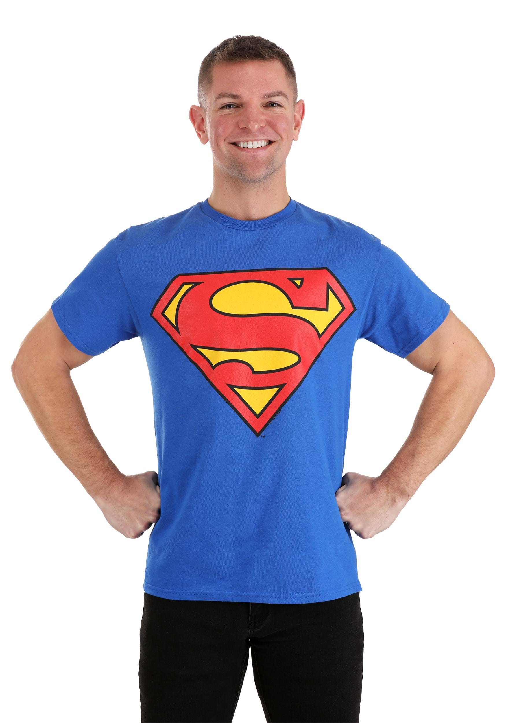 superman shield costume t shirt. Black Bedroom Furniture Sets. Home Design Ideas
