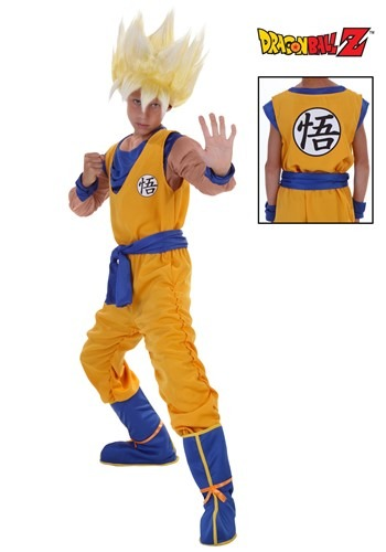 Child Super Saiyan Goku Costume