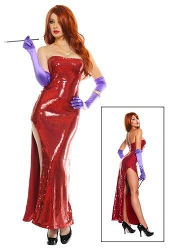 Sexy Jessica Rabbit Costume for Halloween