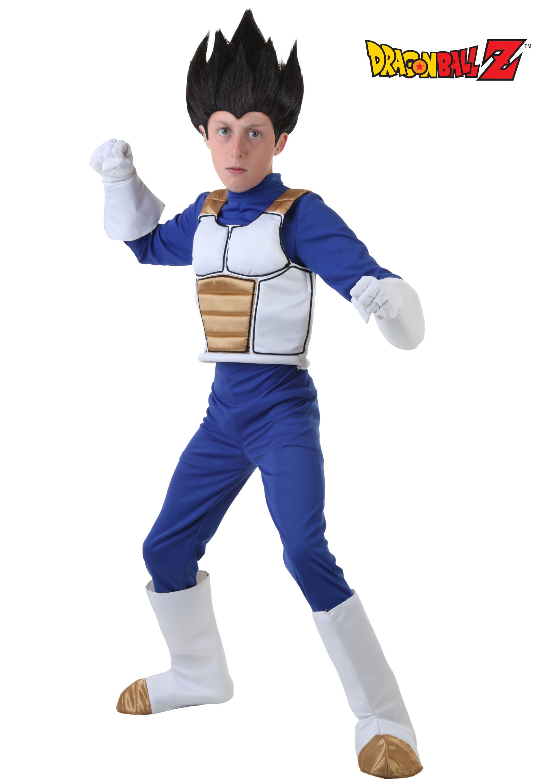 sc 1 st  Halloween Costumes & Dragon Ball Z Child Vegeta Costume
