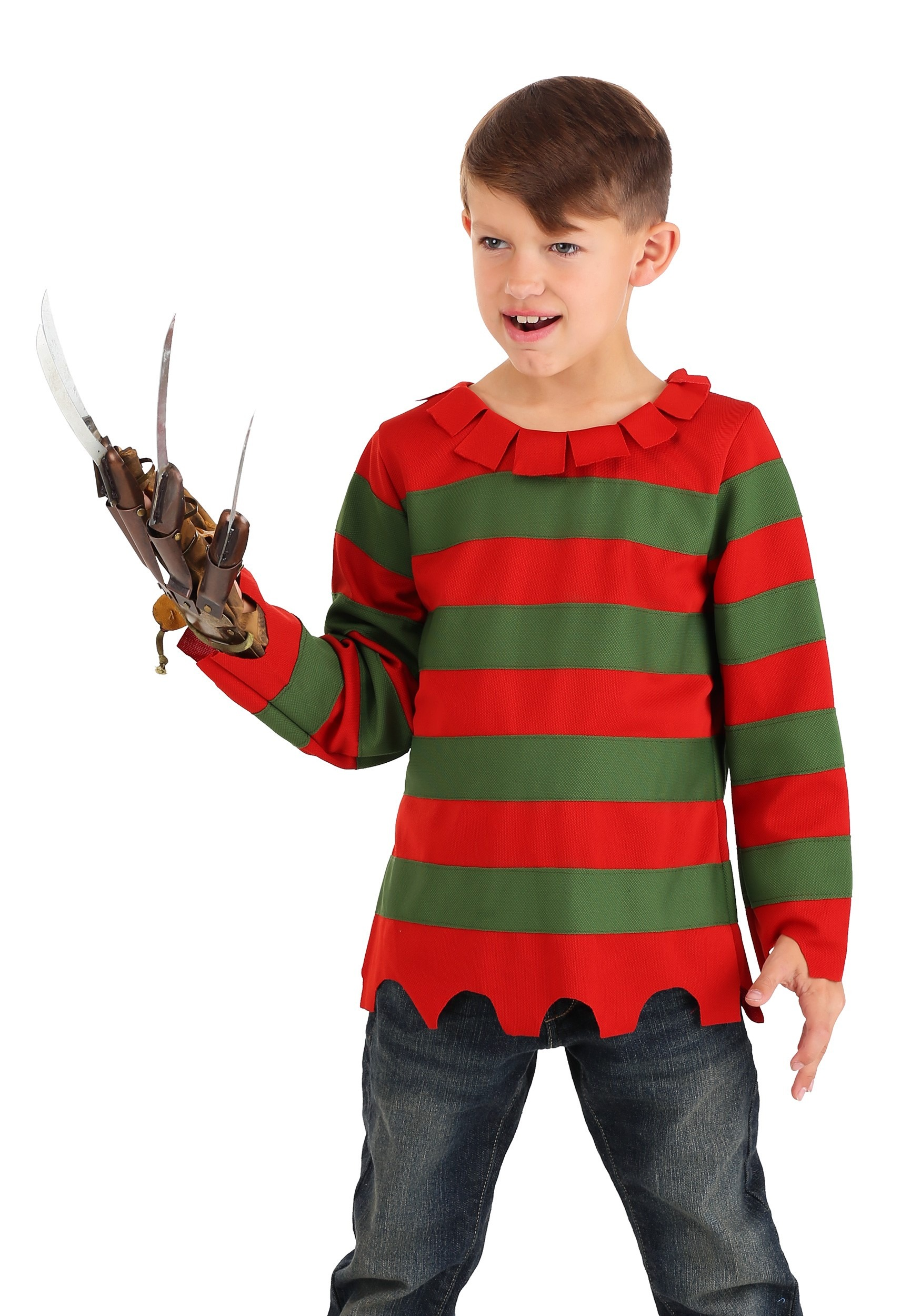 child nightmare sweater costume