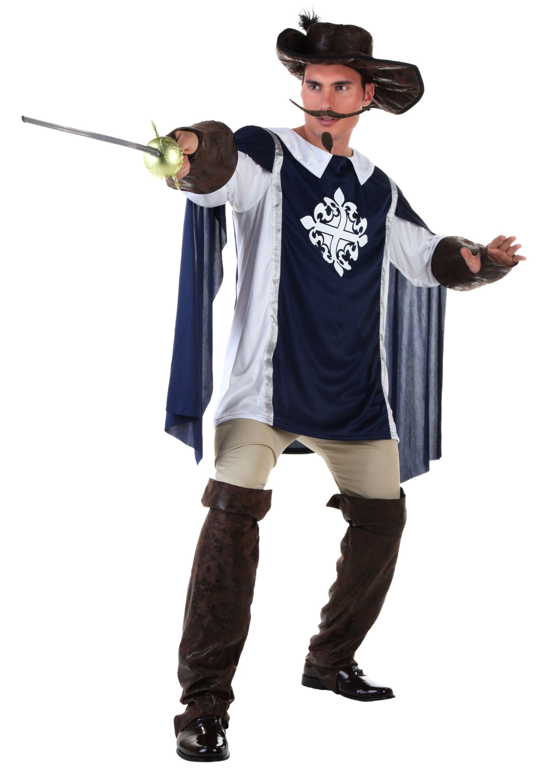 Plus Size Musketeer Costume  sc 1 st  Halloween Costumes & Plus Size Musketeer Costume 2X