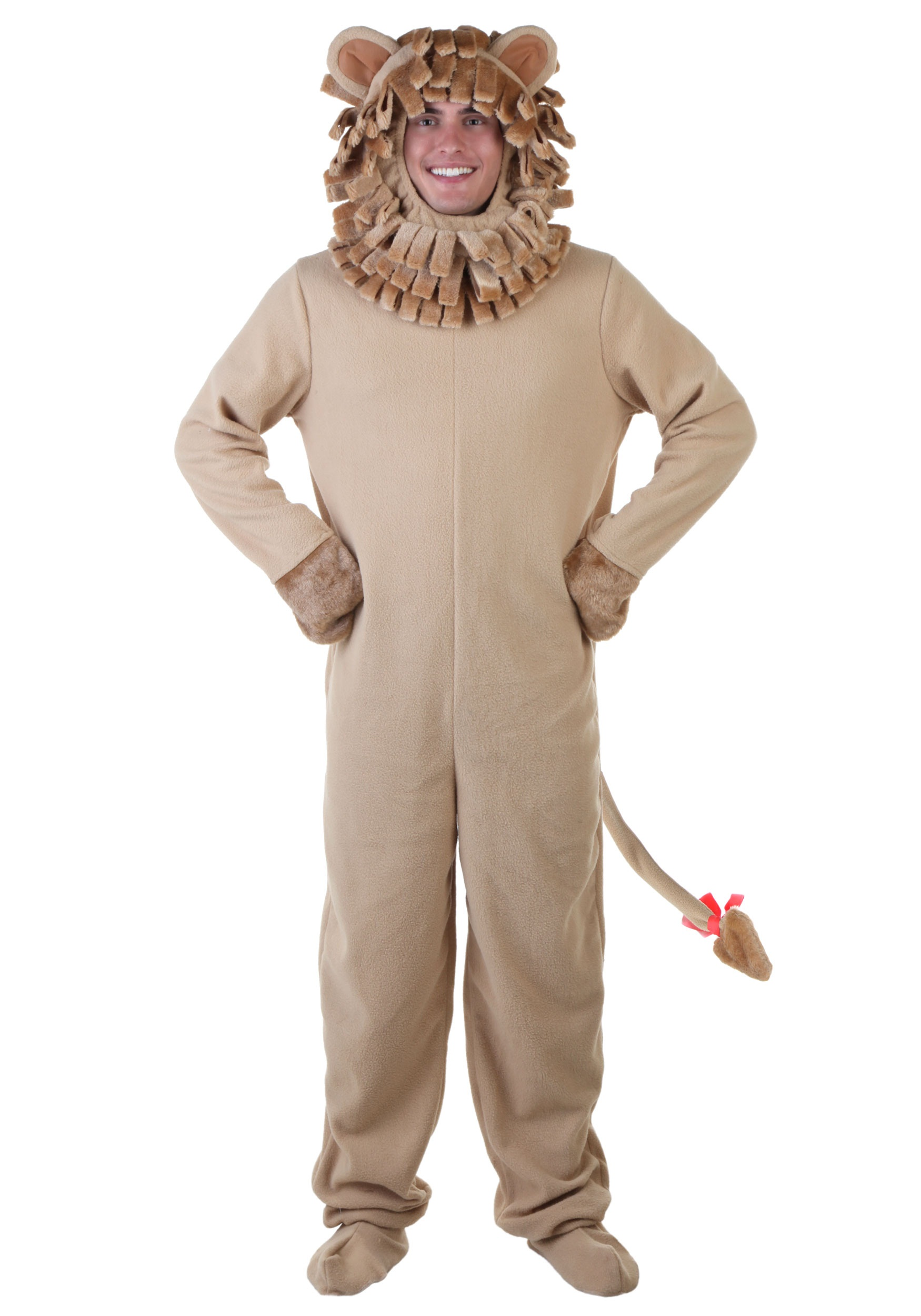 Plus Size Lion Costume  sc 1 st  Halloween Costumes : cowardly lion costume  - Germanpascual.Com