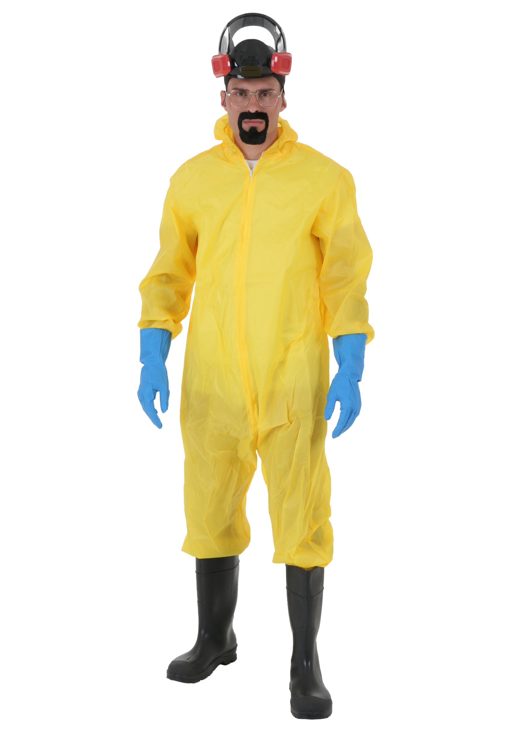 breaking bad walter white toxic suit costume. Black Bedroom Furniture Sets. Home Design Ideas