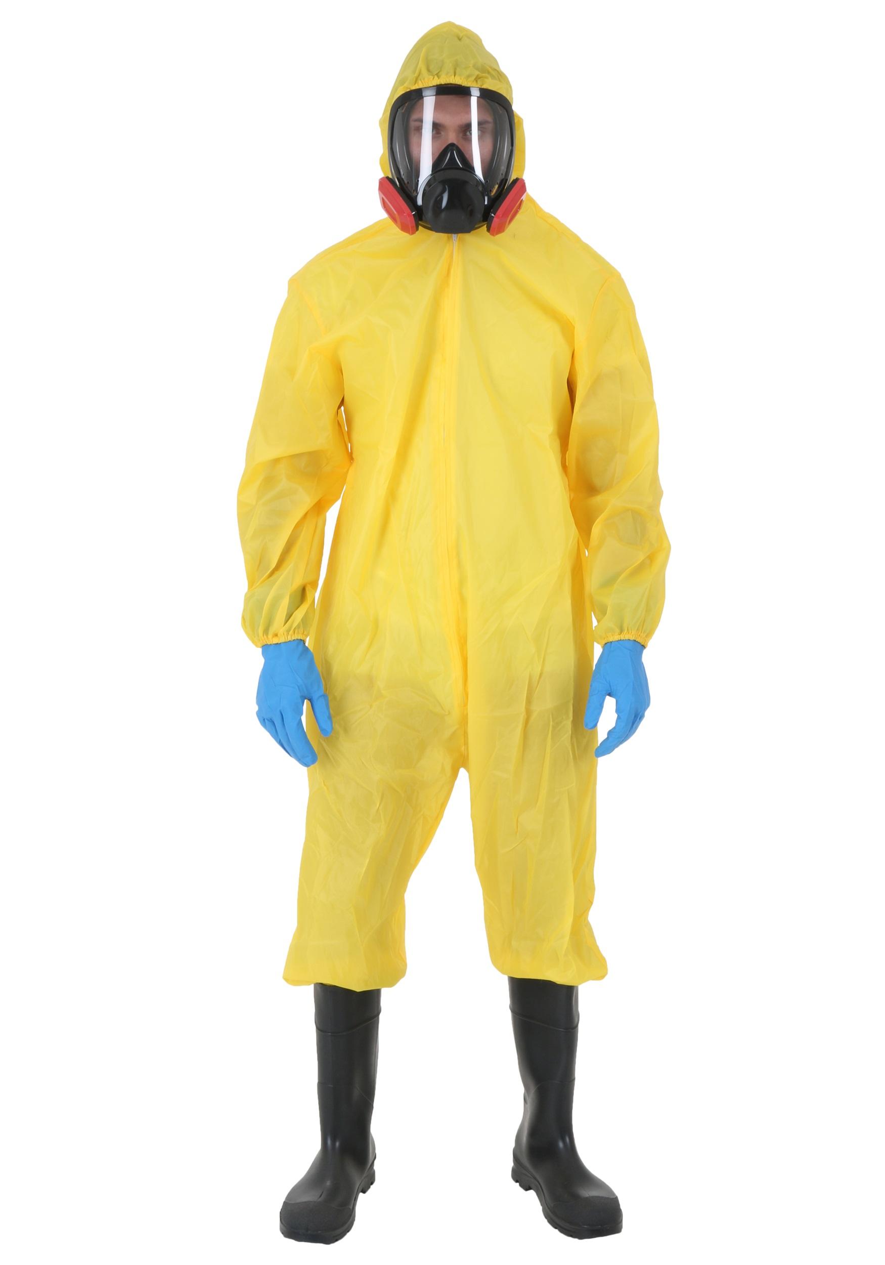 Breaking Bad Walter White Toxic Suit Costume