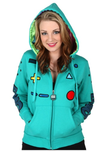 Womens Beemo Costume Hoodie By: Mighty Fine for the 2015 Costume season.
