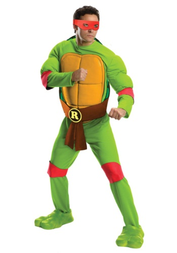 Click Here to buy Deluxe Adult Raphael from HalloweenCostumes, USA Funds & Shipping