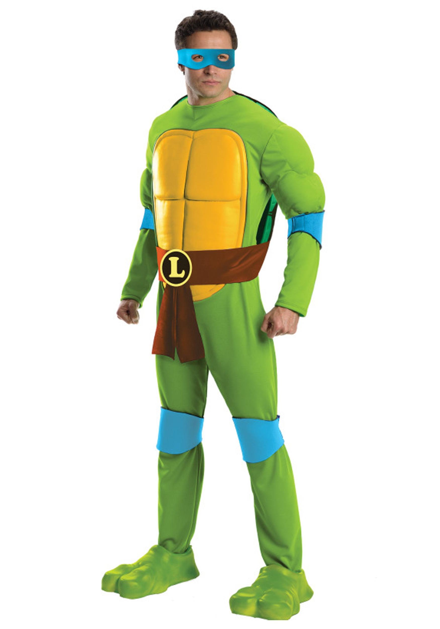 6d82cf2c4d6 Deluxe Adult Leonardo Costume