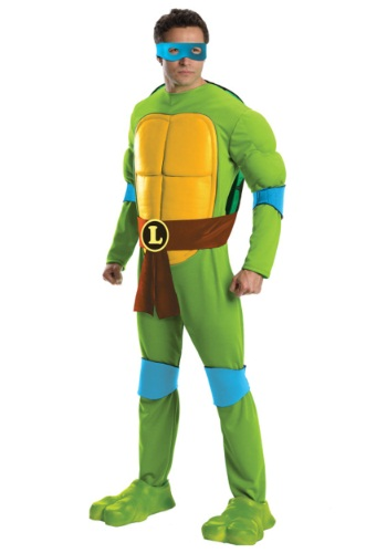 Click Here to buy Deluxe Adult Leonardo from HalloweenCostumes, USA Funds & Shipping