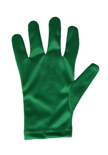 Child Green Gloves By: Fun Costumes for the 2015 Costume season.