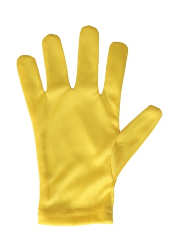 Child Yellow Gloves By: Fun Costumes for the 2015 Costume season.