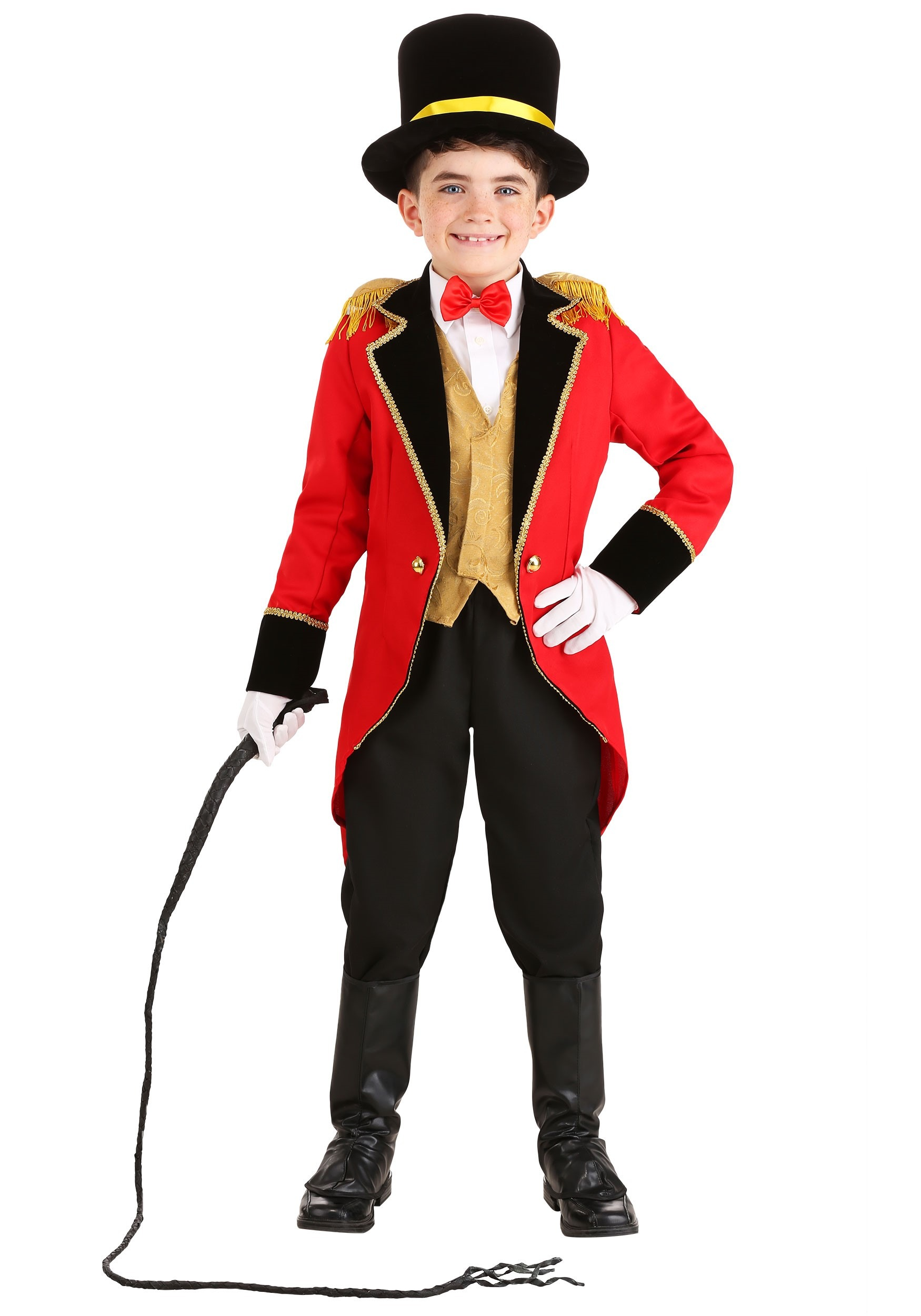 Boy child RING MASTER COSTUME ringmaster