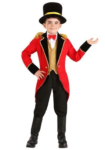 Ringmaster Kids Costume