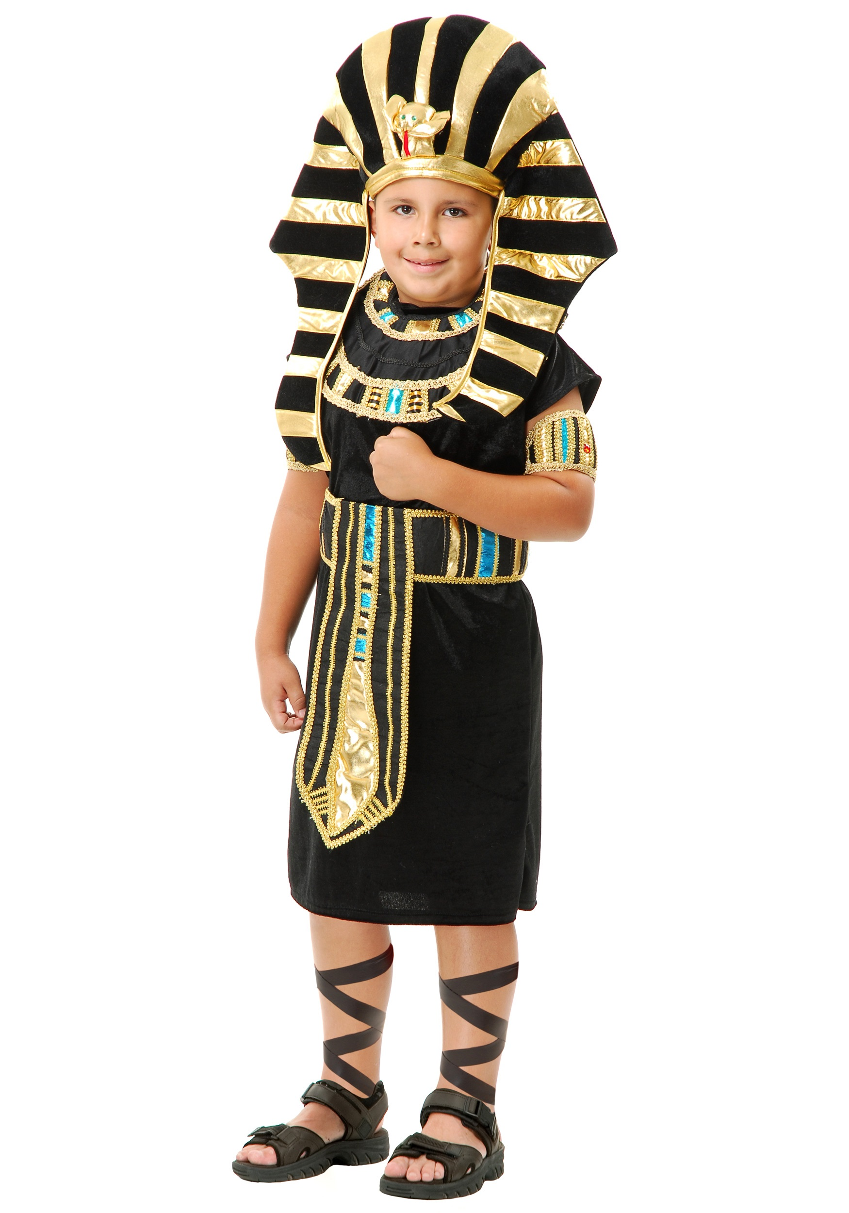 Kids Halloween Costumes Boys Child King Tut Costume