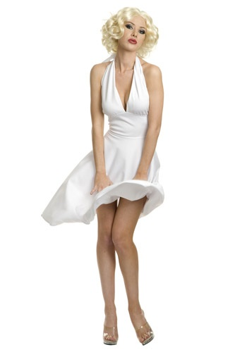 Plus Size Marilyn Halter Dress - Plus Size Marilyn Monroe Costume By: Charades for the 2015 Costume season.