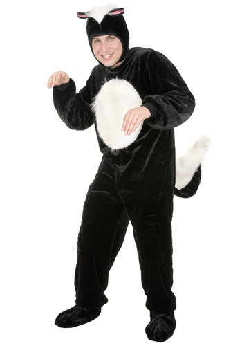 Adult Skunk Costume - Mens Animal Costume Ideas By: Charades for the 2015 Costume season.