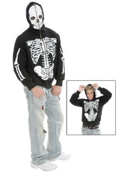 Skeleton Hooded Sweatshirt