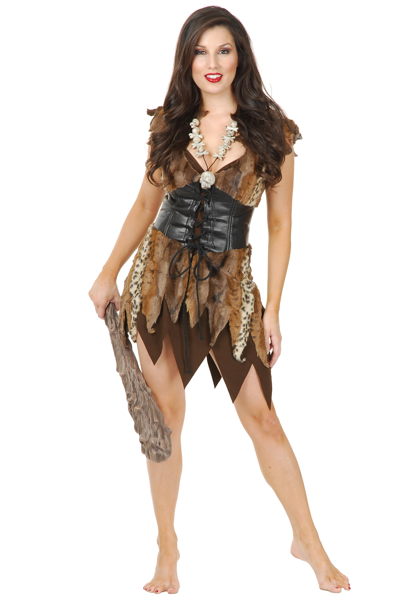 Sexy Cave Woman Costume-5075