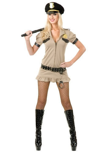 Click Here to buy Sexy California Sheriff Costume from HalloweenCostumes, USA Funds & Shipping