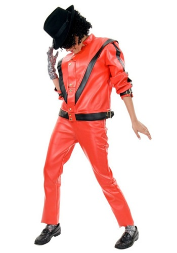 Adult Michael Jackson Thriller Jacket By: Charades for the 2015 Costume season.