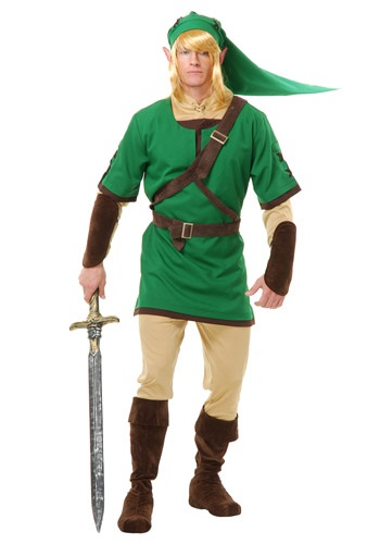 Image of Adult Elf Warrior Costume