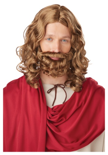 Jesus Wig and Beard for Adults