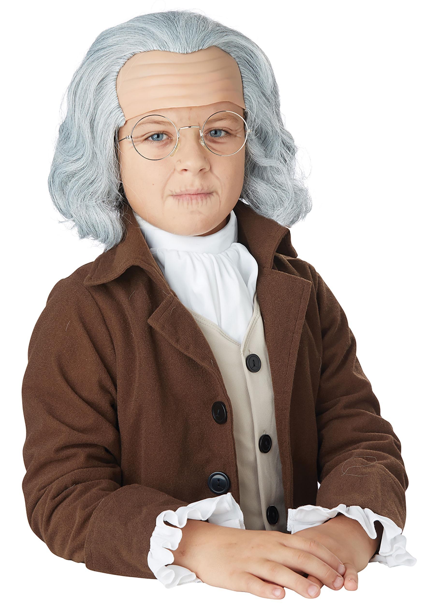 Child Benjamin Franklin WigBenjamin Franklin As A Child