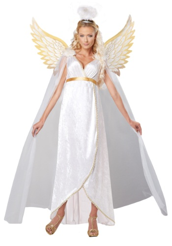 Click Here to buy Plus Size Adult Guardian Angel Costume from HalloweenCostumes, USA Funds & Shipping