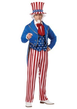 Plus Size Deluxe Uncle Sam Costume