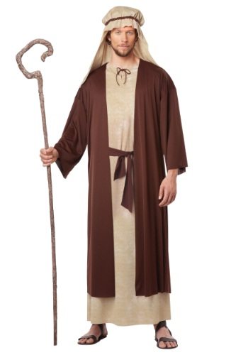 Click Here to buy Adult Saint Joseph Costume from HalloweenCostumes, USA Funds & Shipping
