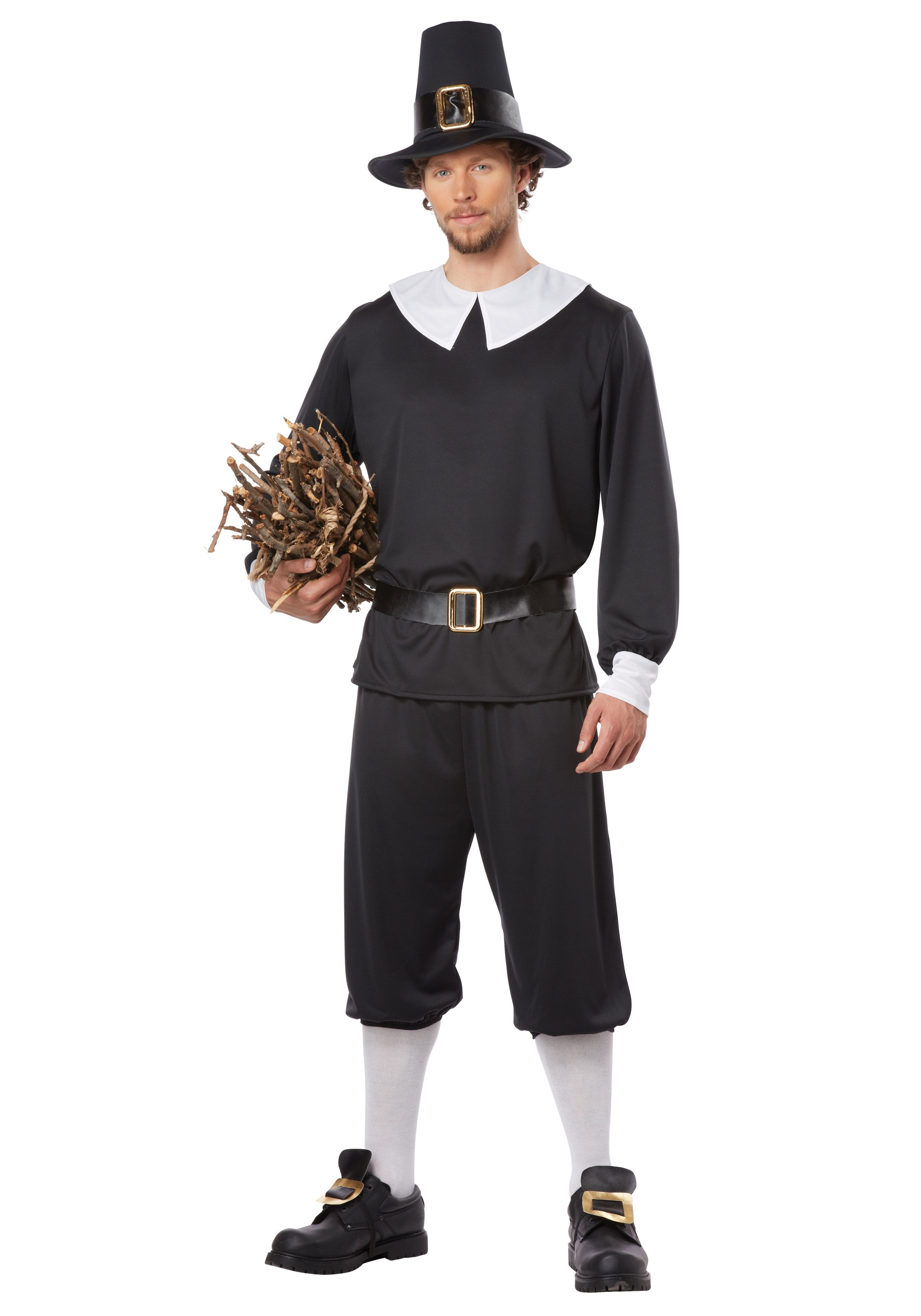 Thanksgiving costumes adult child pilgrim and indian costume pilgrim man costume solutioingenieria Choice Image