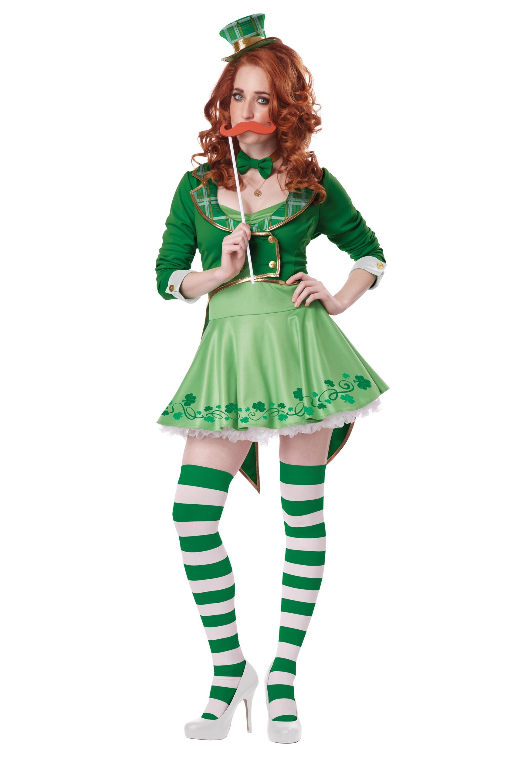 Lucky Charm Women\'s Leprechaun Costume