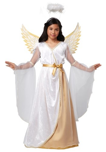 Girls Guardian Angel Costume By: California Costumes for the 2015 Costume season.