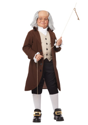 Benjamin Franklin Costume For Boys