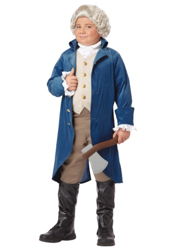 <strong>HalloweenCostumes.com</strong> - Boys George Washington Costume