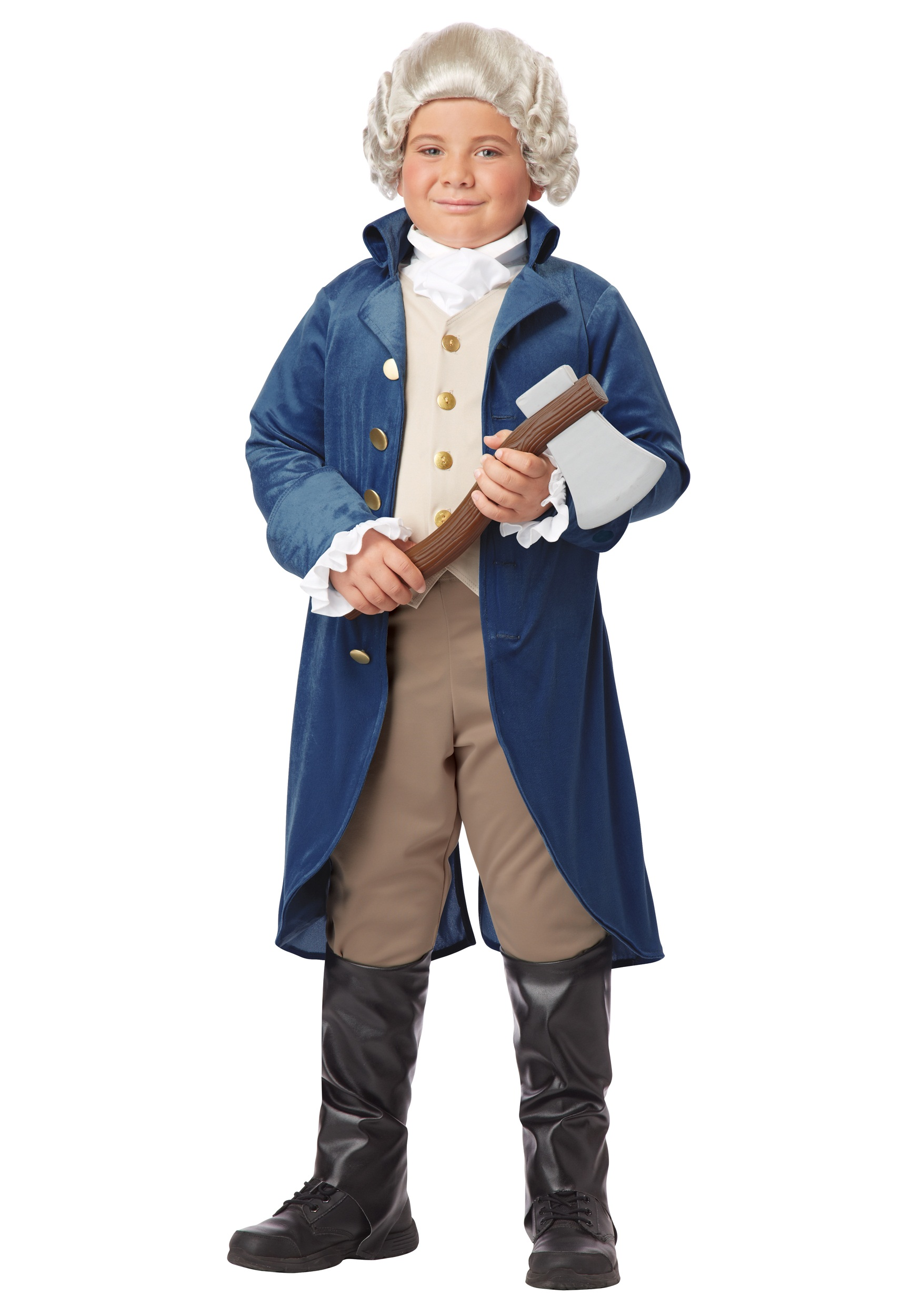 Boys George Washington Costume