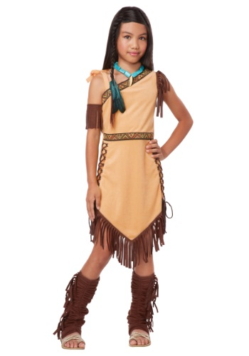 Click Here to buy Native American Princess Girl Costume from HalloweenCostumes, USA Funds & Shipping