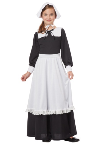 Pilgrim Girl Costume for Girls