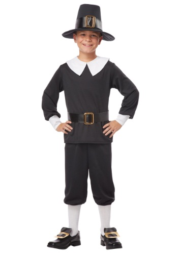Pilgrim Boy Costume By: California Costumes for the 2015 Costume season.