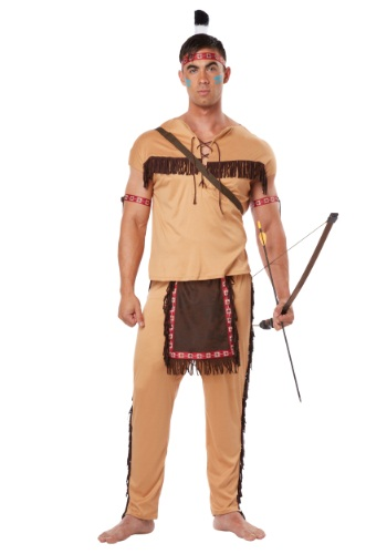 Click Here to buy Native American Brave Costume for Adults from HalloweenCostumes, CDN Funds