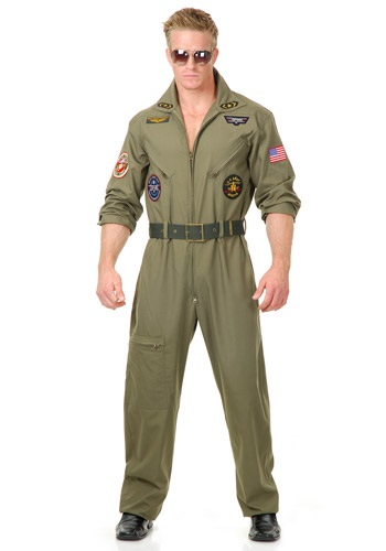 Plus Size Air Force Pilot Costume Halloween Costume