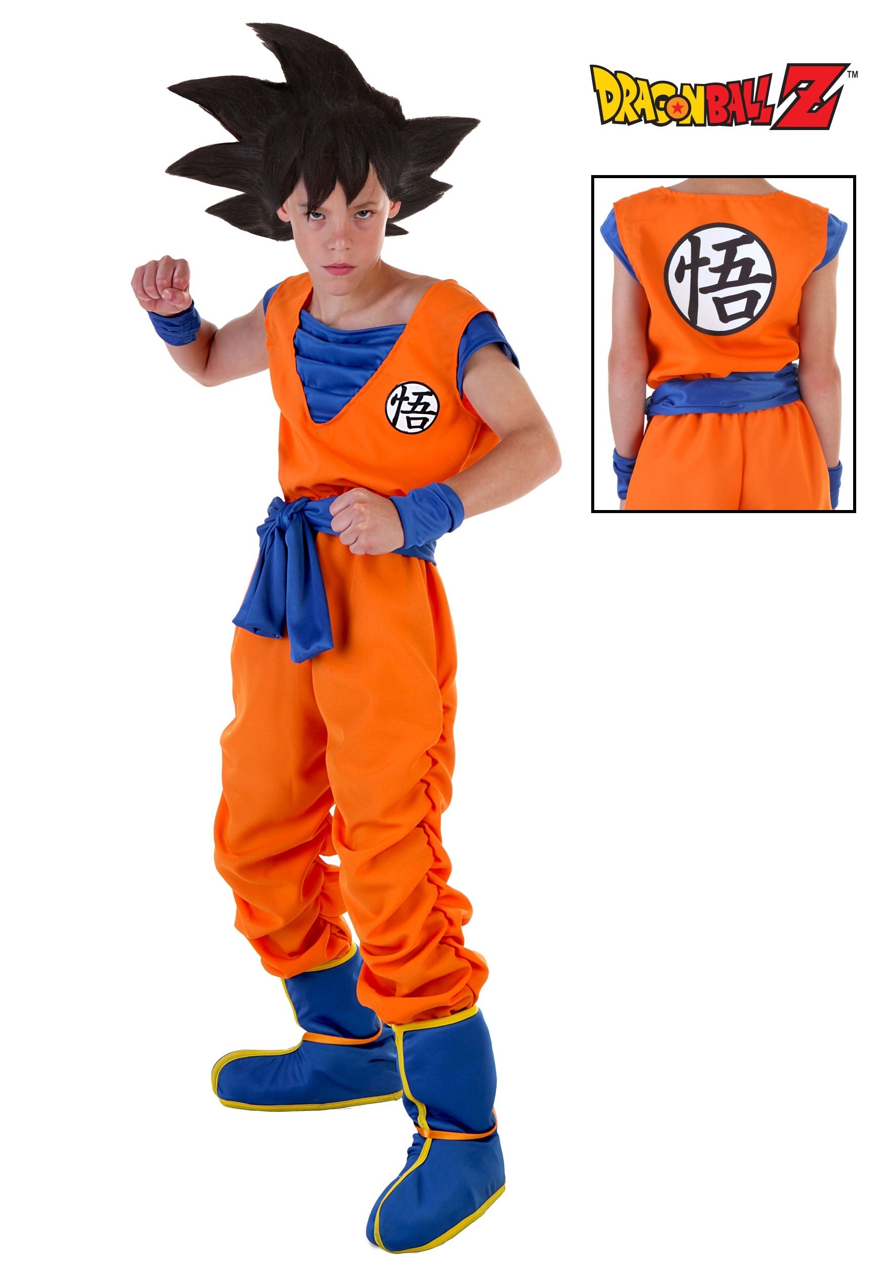 sc 1 st  Halloween Costumes & Child Goku Costume