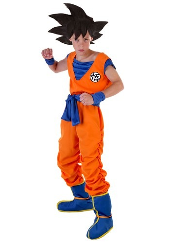 Child Goku Costume DBZ2210CH-L