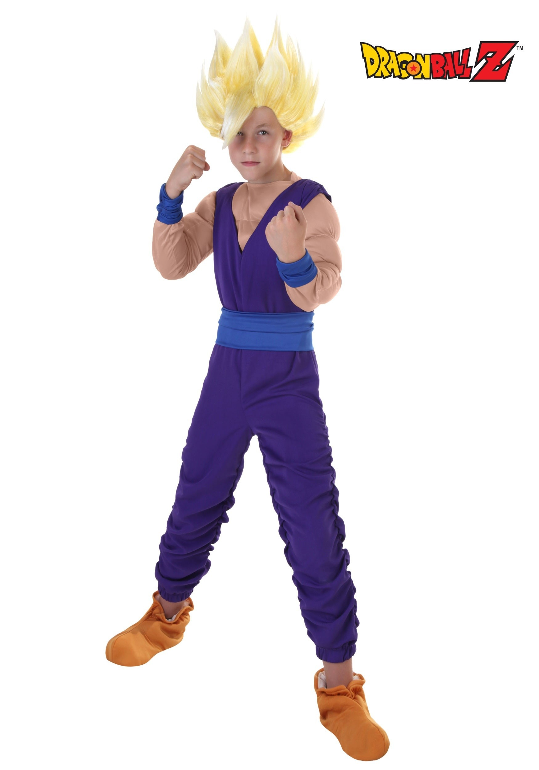 how to make baby gohan costume